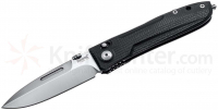 Нож складной Big Daghetta, Satin Finish D2 Blade, Black G10 Handles, Ball-Bearing Opening System